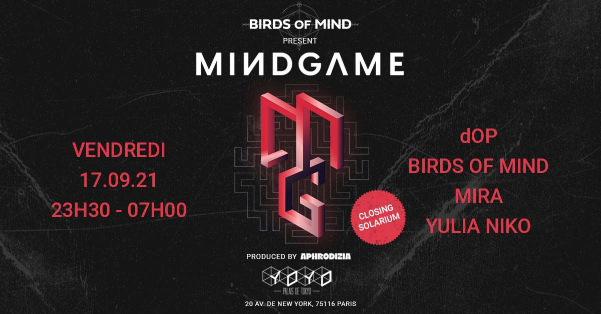 MINDGAME by Aphrodizia | dOP-Birds of Mind-Mira-Yulia Niko