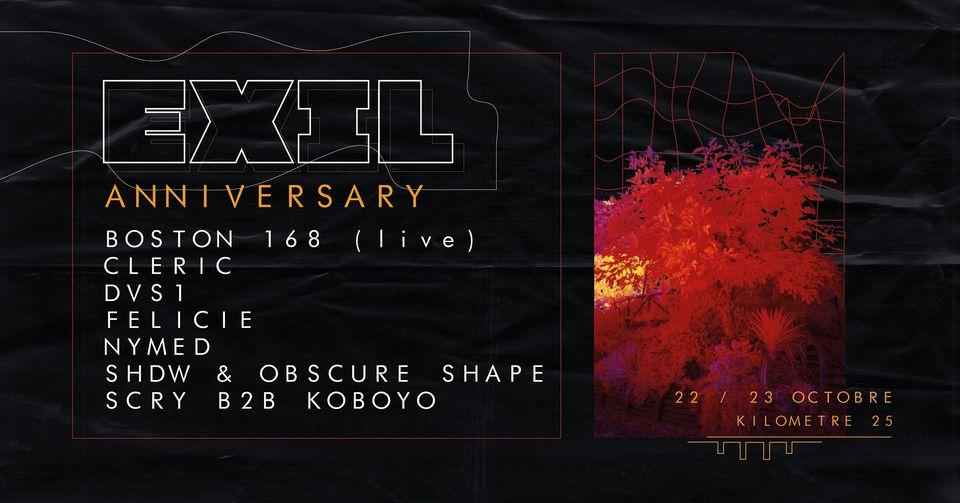 EXIL : 4th & 5th Anniversary