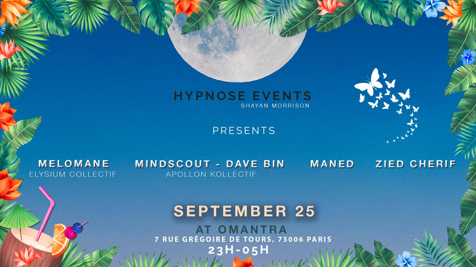 HYPNOSE EVENTS INVITES VERY 🔥SPECIAL GUESTS🔥 AT PARIS 6ÈME