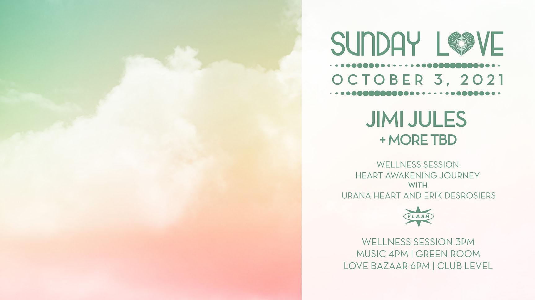 Sunday Love: Jimi Jules