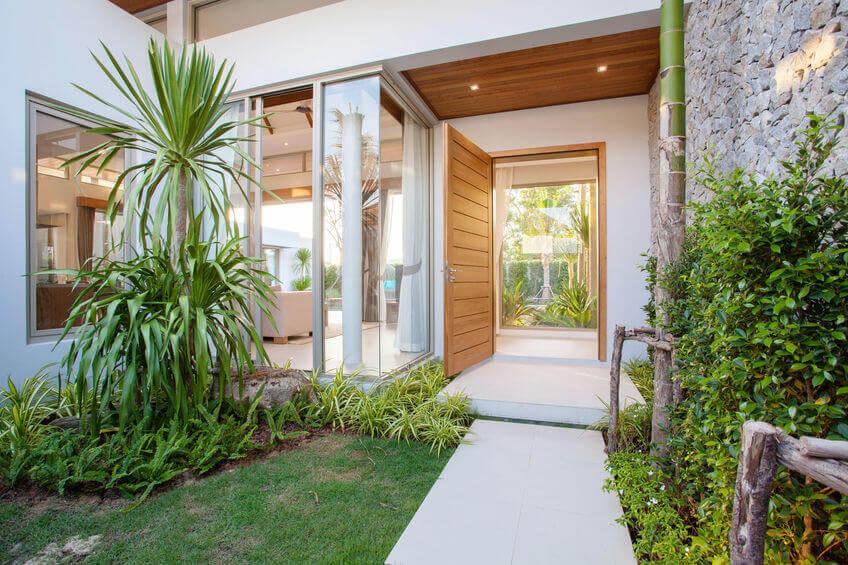 Beautiful Doorway to Garden - Nice Door Design