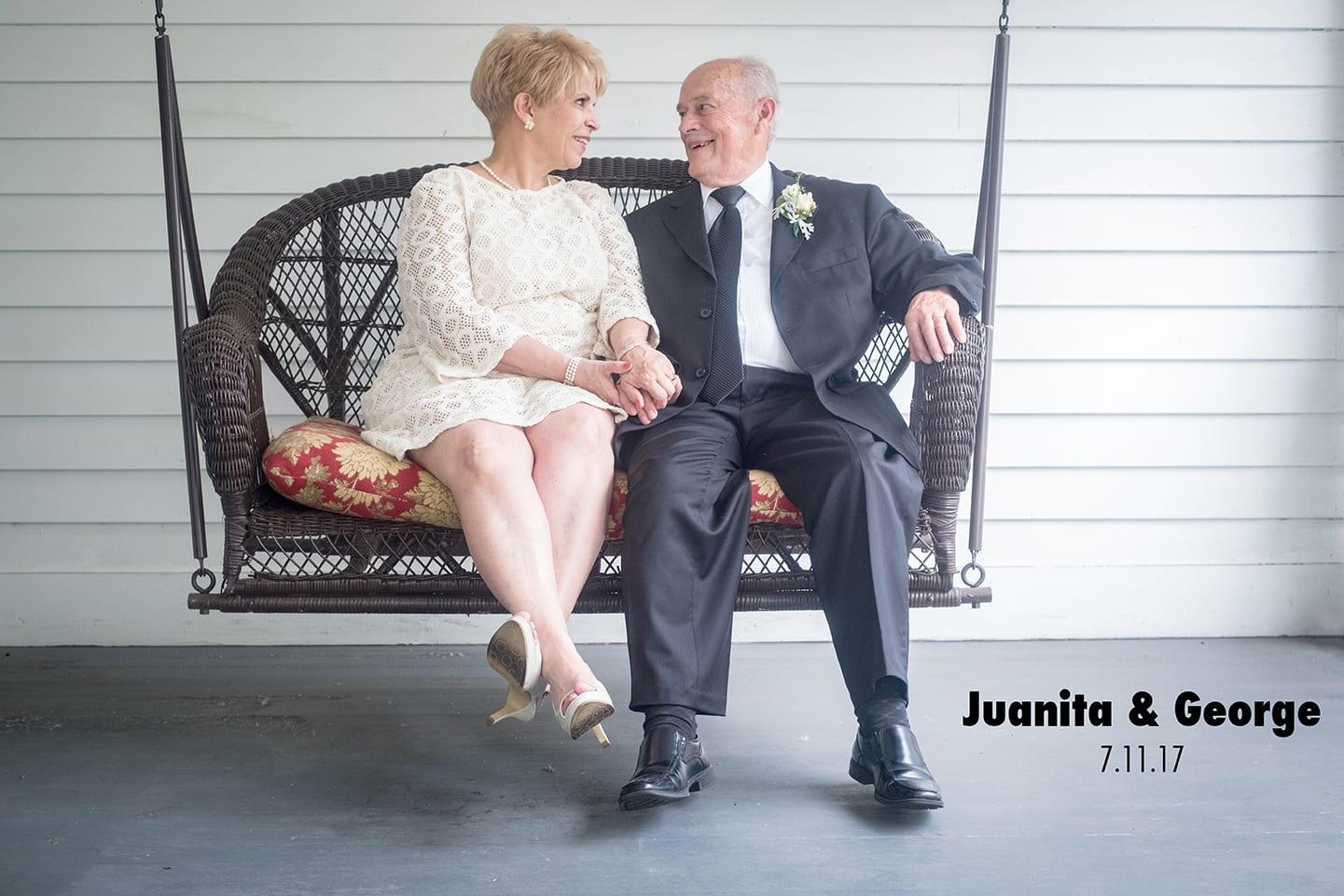 Juanita and George wedding photography.