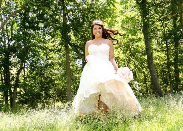 bride from toledo wedding