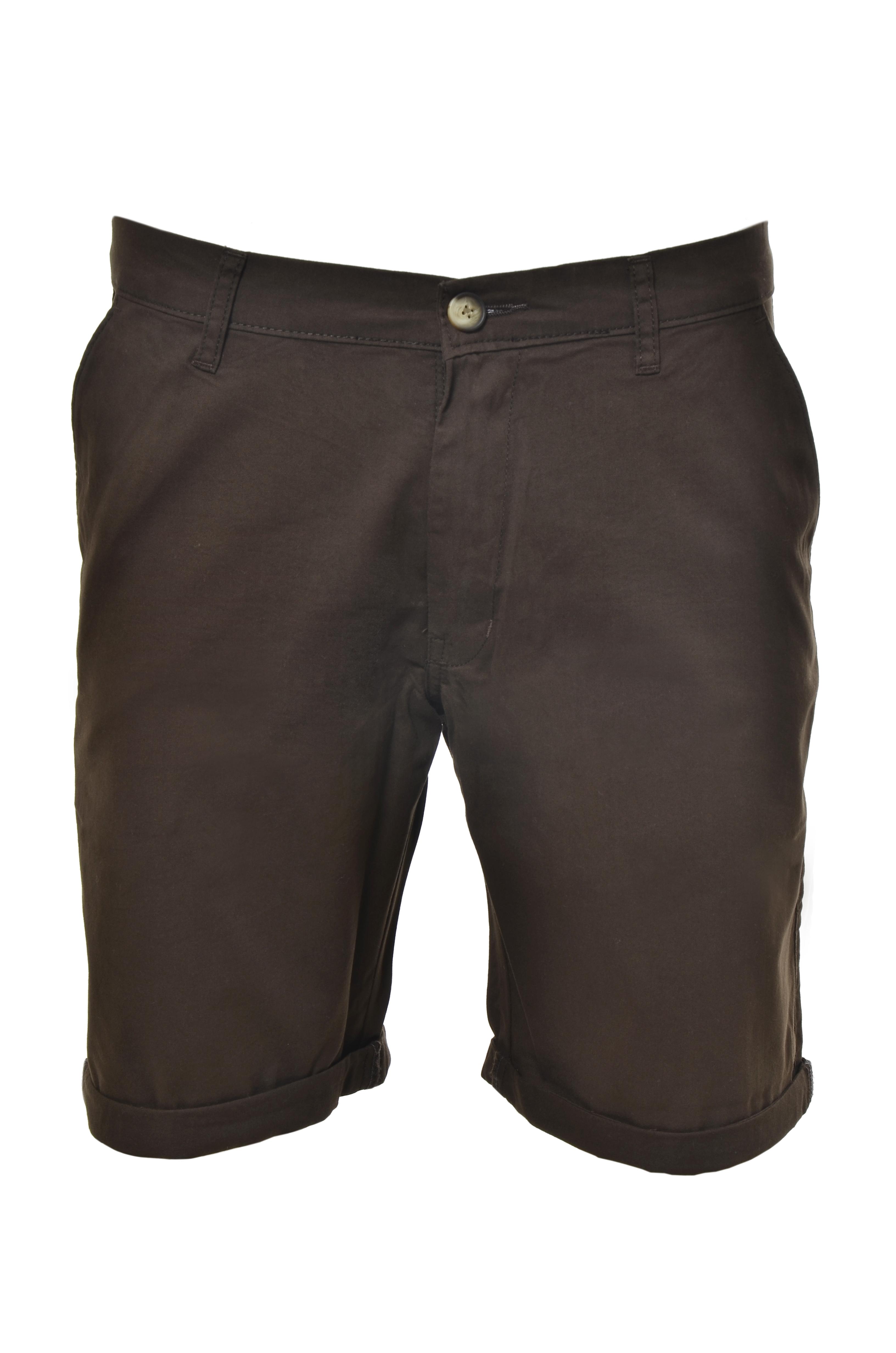 Smart Plain Shorts