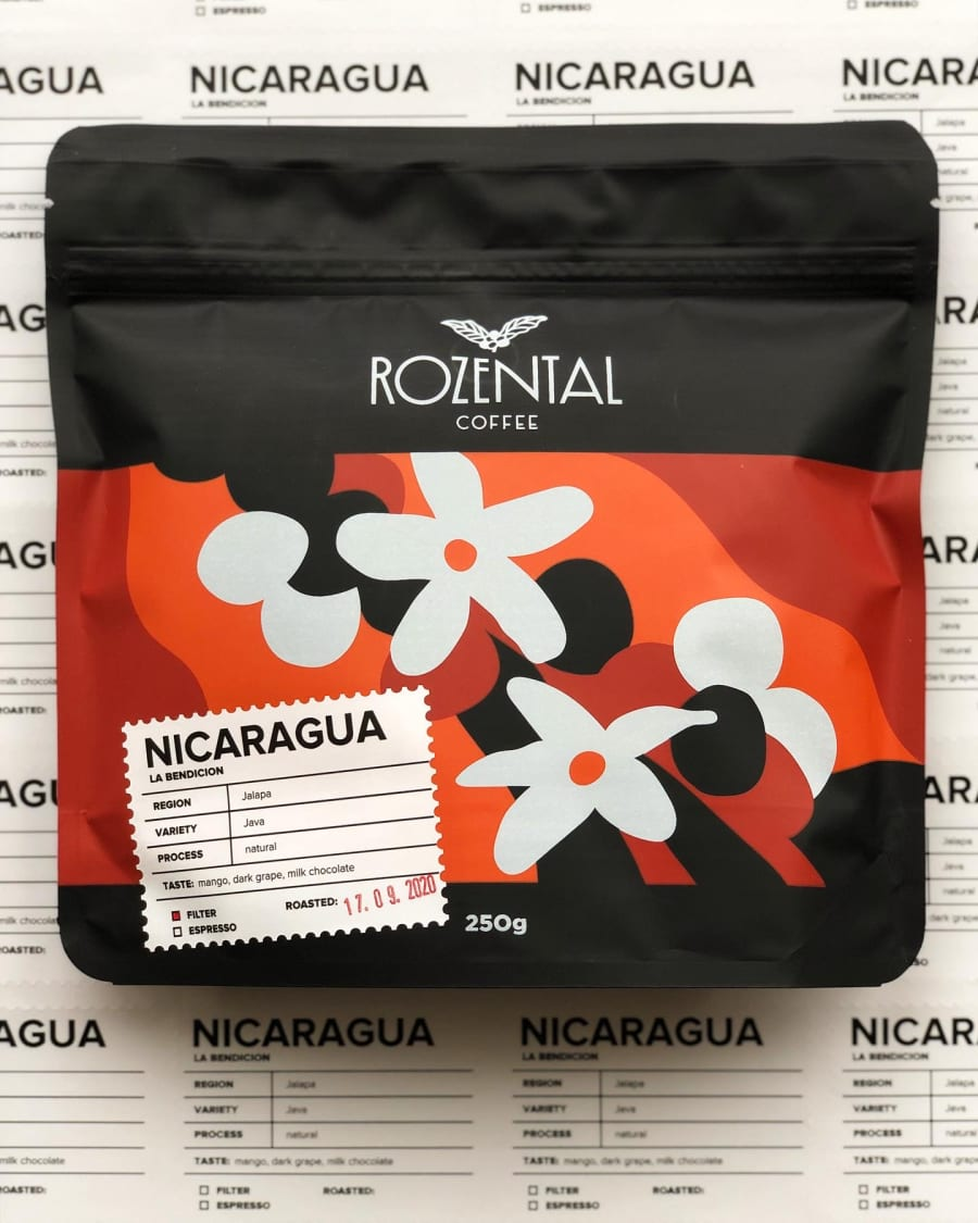Nicaragua Java   ROZENTAL COFFEE