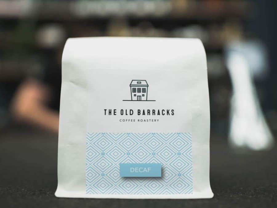 Decaf | The Old Barracks Coffee Roastery