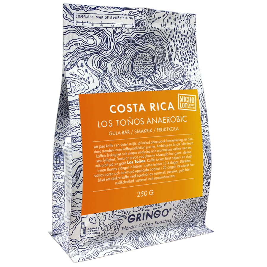Costa Rica Los Toños Anaerobic   Gringo Nordic Coffee Roasters