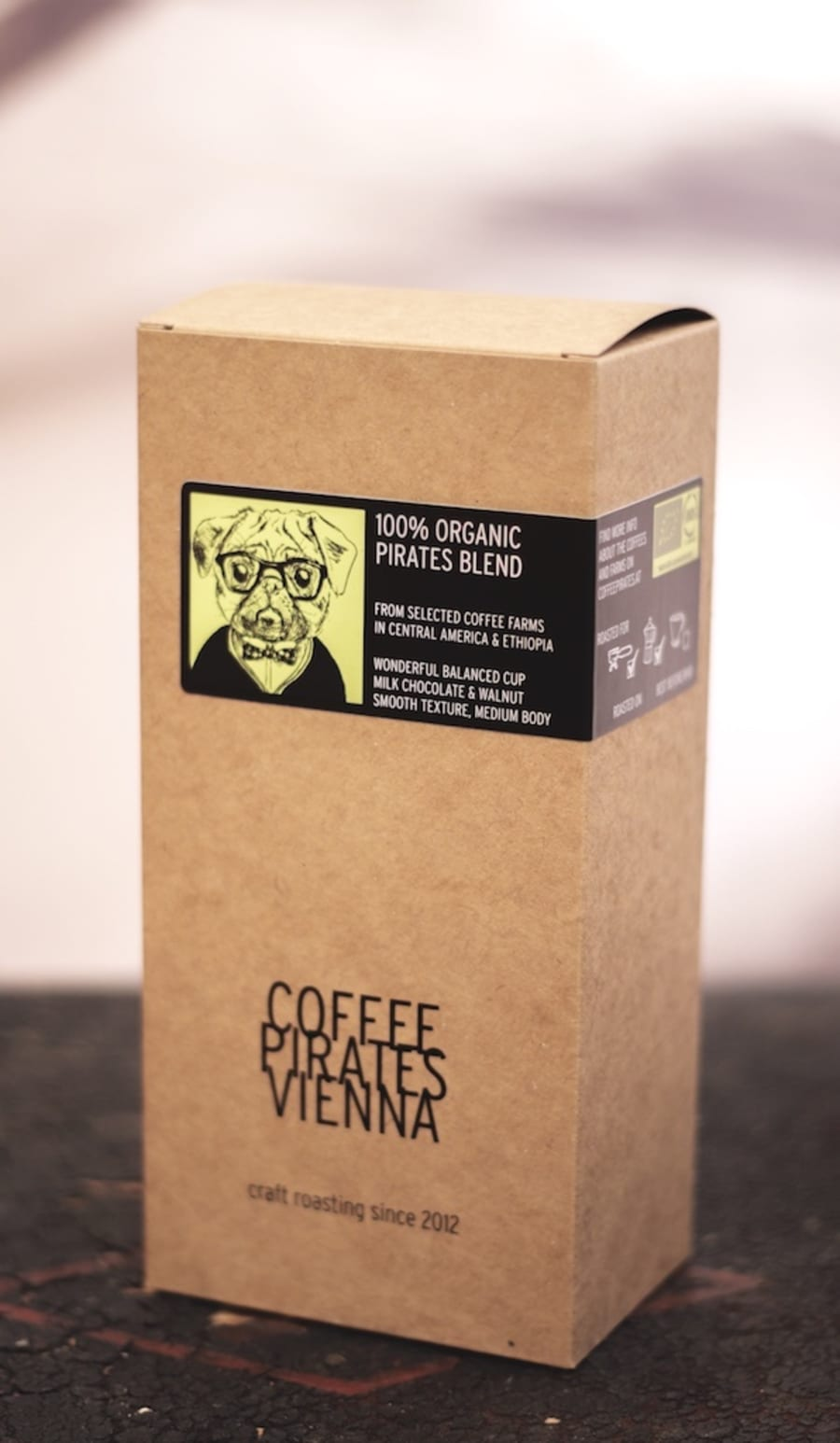 PIRATES BLEND   CoffeePirates Vienna Coffee Roasters