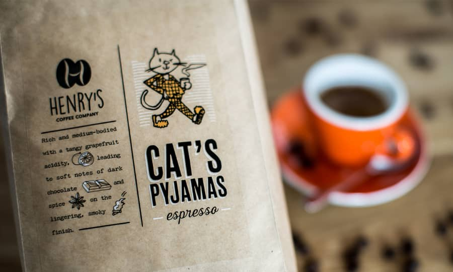 Cat's Pjyamas Espresso | Henry's Coffee Company