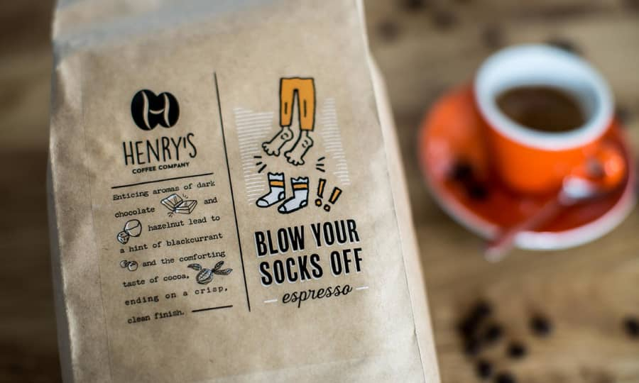Blow Your Socks Off | Henry's Coffee Company