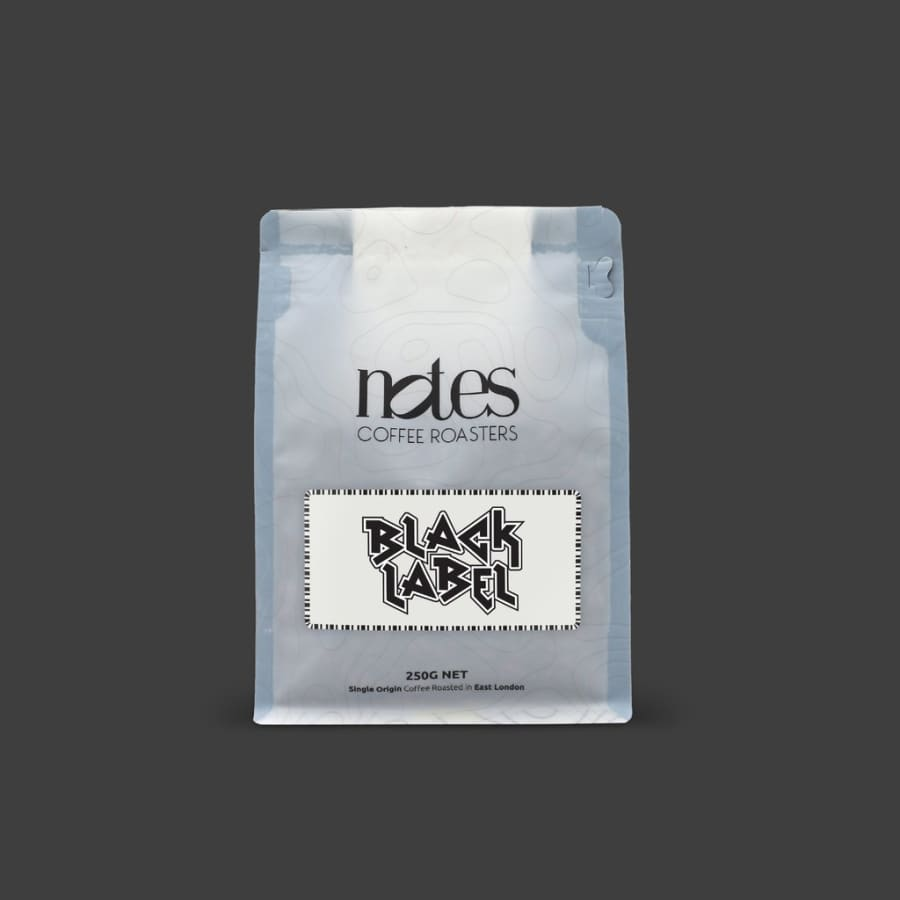 Black Label   Notes Coffee Roasters