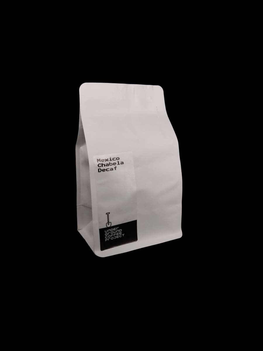 Mexico Chabela decaf   Underground Coffee Project
