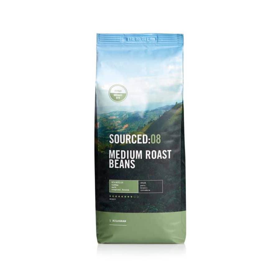Voyage08: Medium Roasted Coffee Beans | Sourced Coffee
