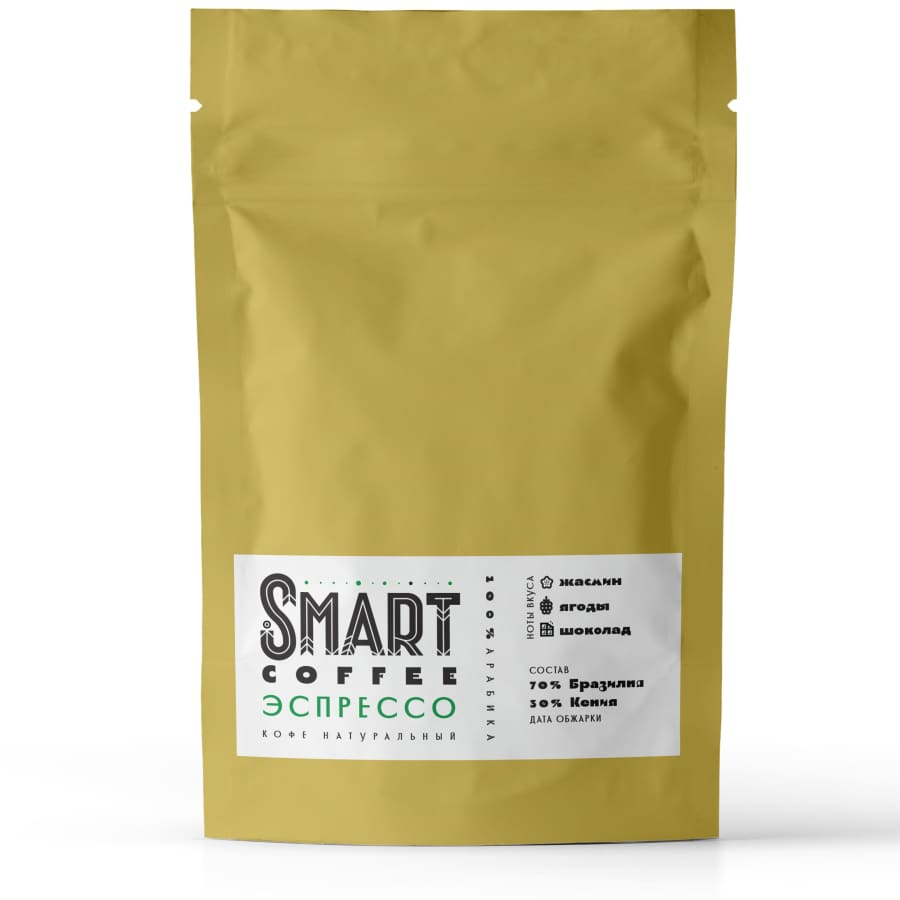 Эспрессо Бразилия-Кения   Smart Coffee (Смарт кофе)