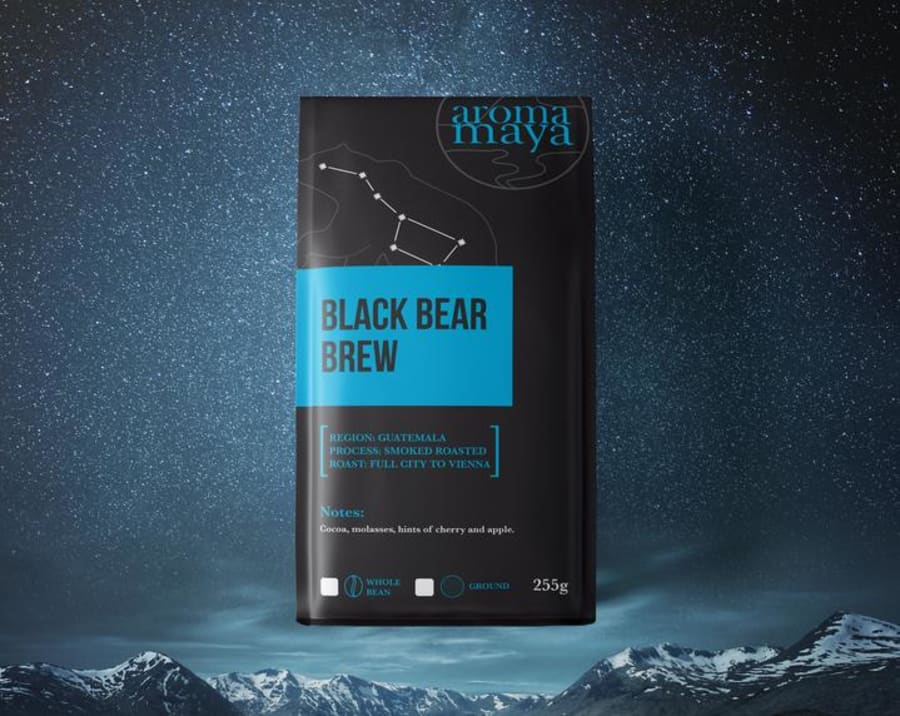 Black Bear Brew | Aroma Maya Coffee Roasters
