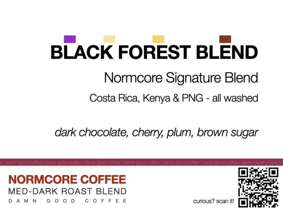 Black Forest Blend | NORMCORE COFFEE