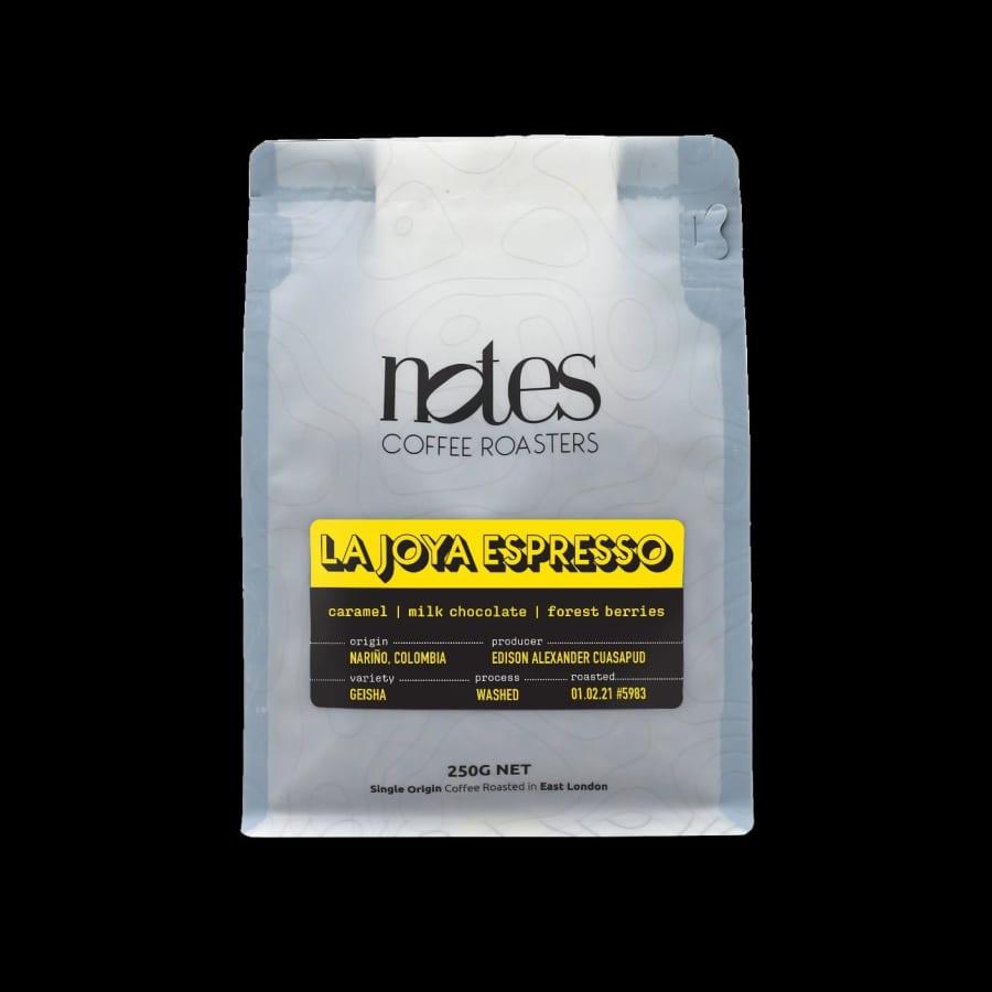 La Joya Espresso | Notes Coffee Roasters