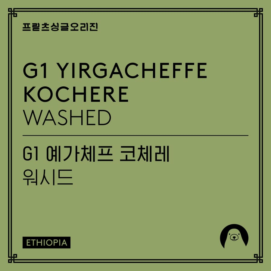 G1 Yirgacheffe Kochere Washed | Fritz Company