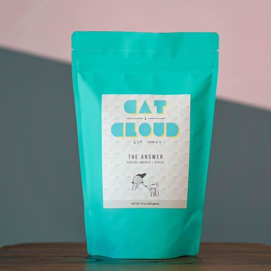 The Answer | Cat & Cloud Coffee