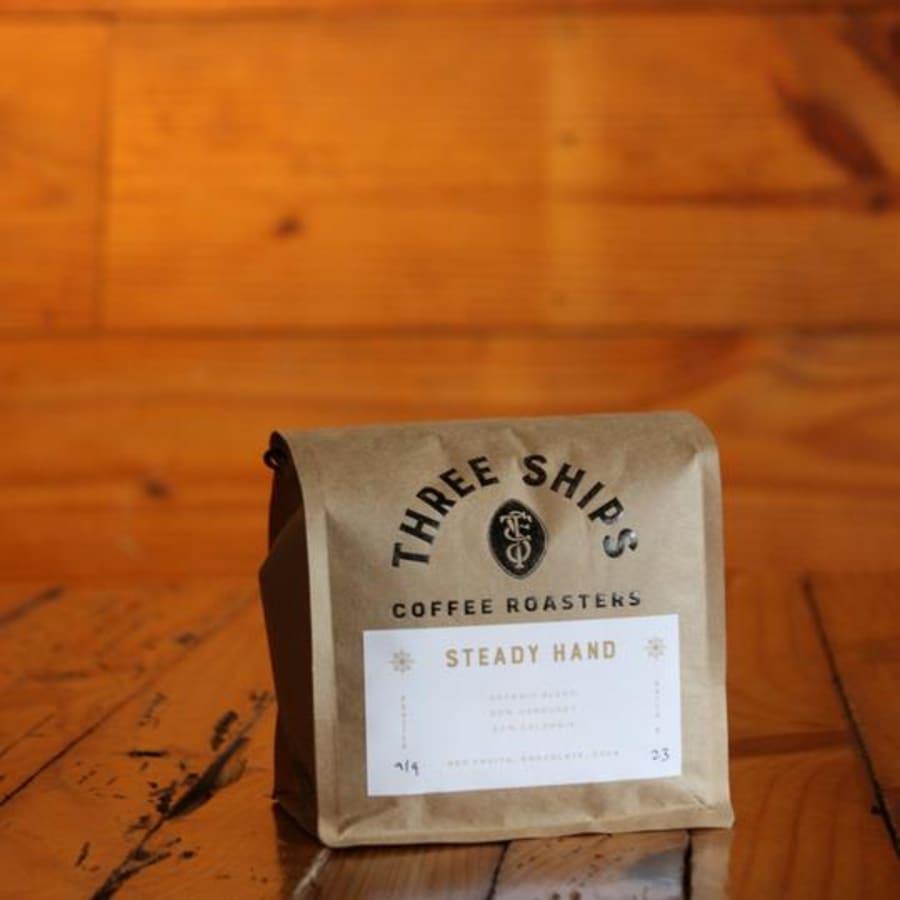 The Steady Hand   Three Ships Coffee