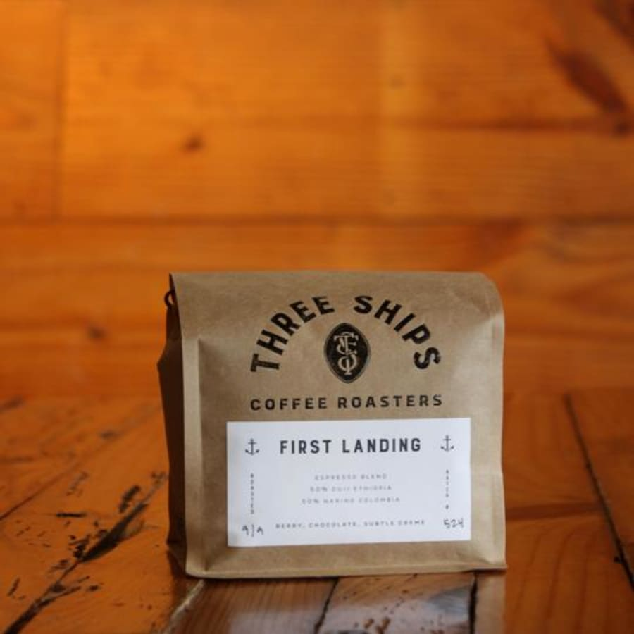 First Landing Espresso | Three Ships Coffee