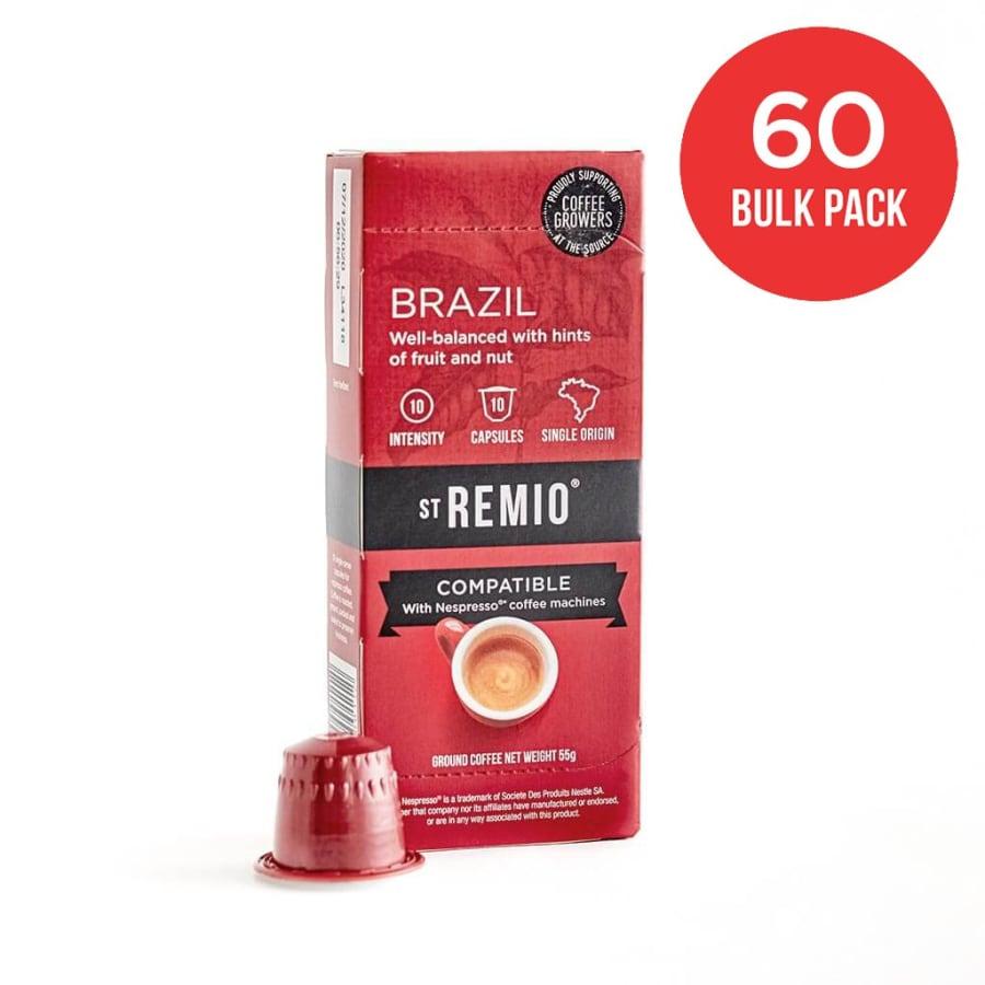 Brazil - Nespresso®* Compatible 60 Capsule BULK PACK | St Remio