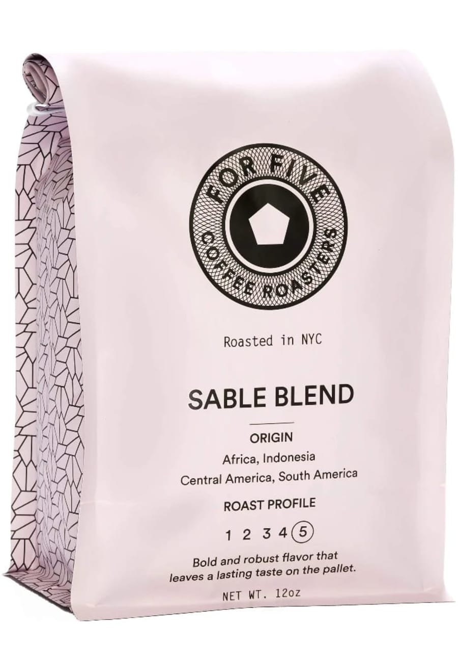 Sable Blend | For Five Coffee Roasters
