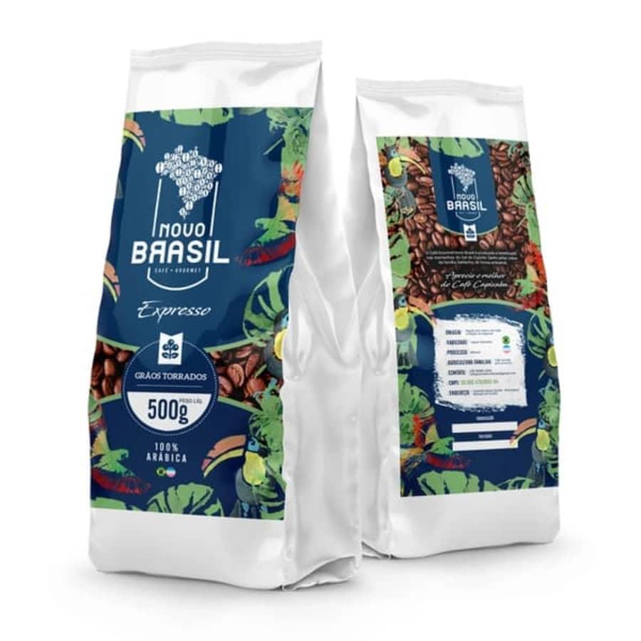 Torrado em Grãos | Café Gourmet Novo Brasil