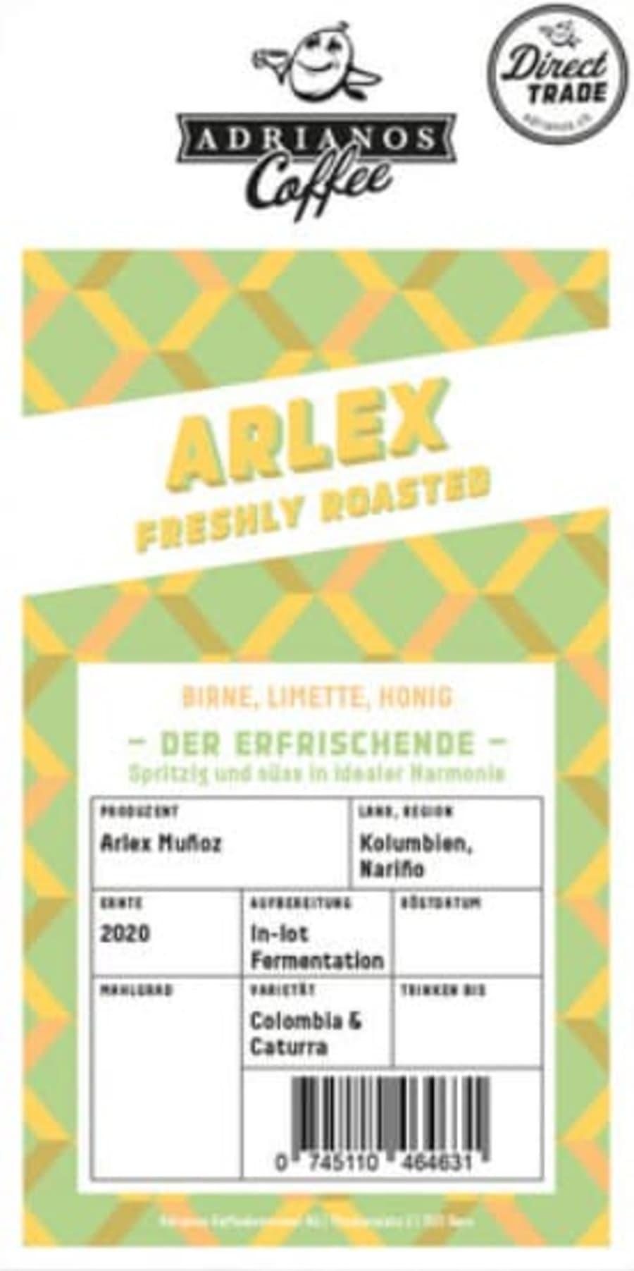 Arlex | Adrianos Kaffeebrennerei
