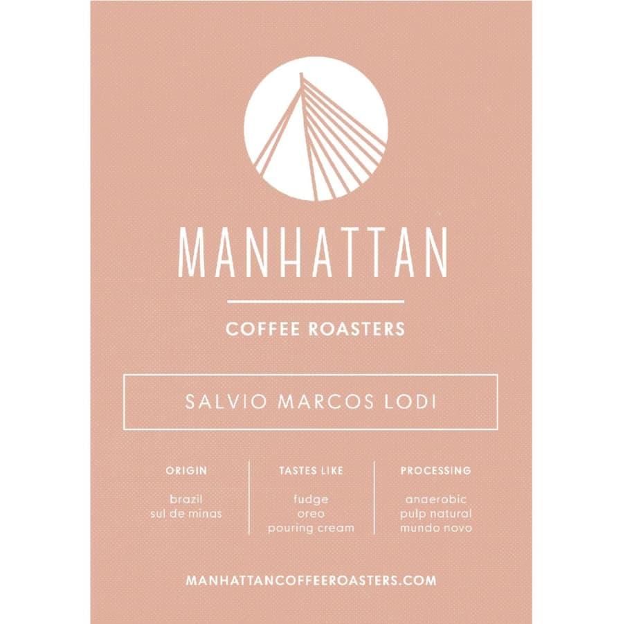 Salvio Marcos Lodi   Manhattan Coffee Roasters