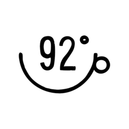 92 Degrees Coffee logo