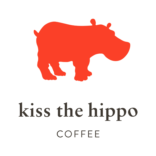 Kiss the Hippo Coffee logo