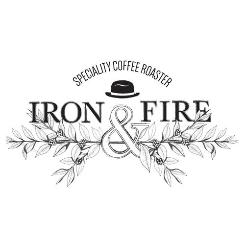 Iron & Fire Coffee Roasters logo