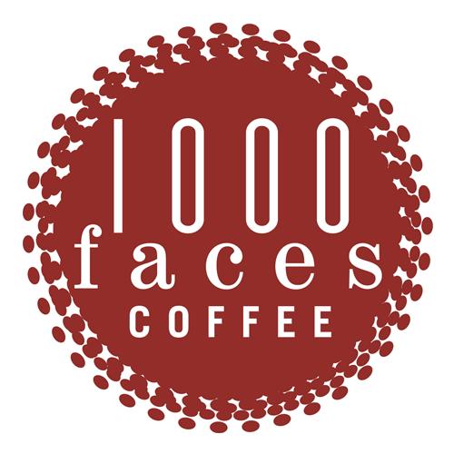 1000 Faces Coffee logo