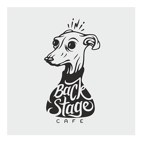 Backstage Cafe logo