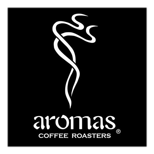 Aromas Coffee Roasters logo