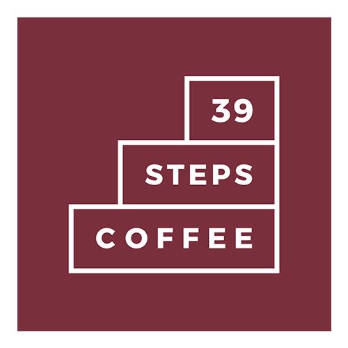 39 Steps Coffee logo
