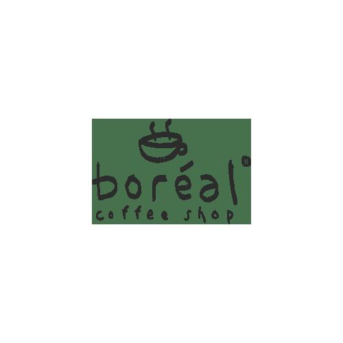 Boreal Coffee Shop logo