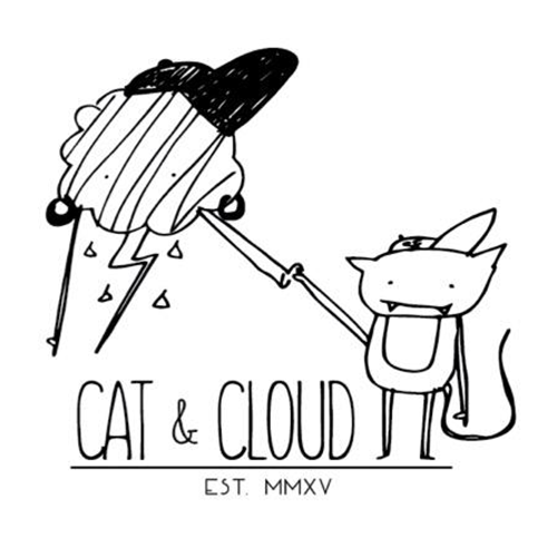 Cat & Cloud Coffee logo