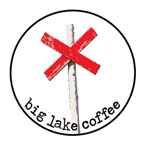 Big Lake Coffee  logo