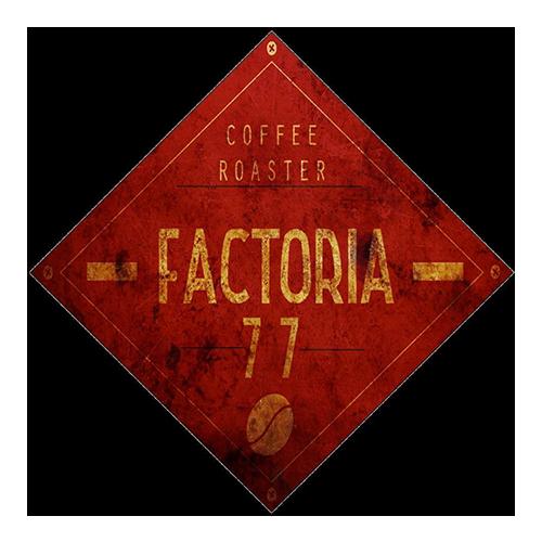 Factoria77 Coffee Roaster logo