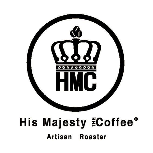 HMC His Majesty the Coffee logo