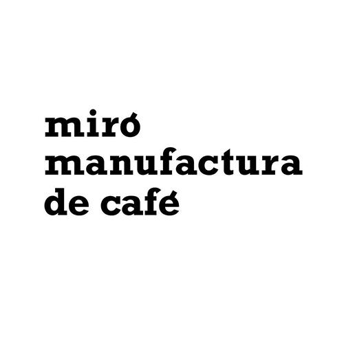 Miro Manufactura de Cafe logo