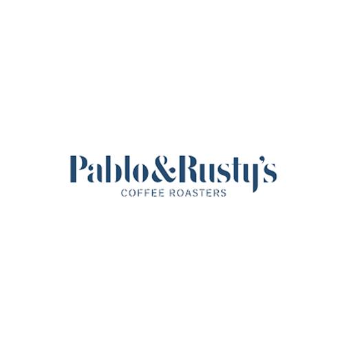 Pablo & Rusty's Coffee Roasters logo
