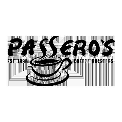 Passero's Coffee Roasters logo