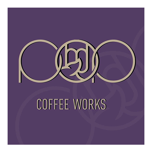 Pop Coffee Works logo