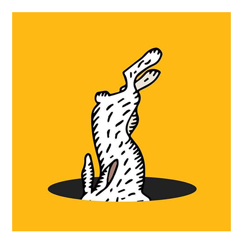 Rabbit Hole Roasters logo