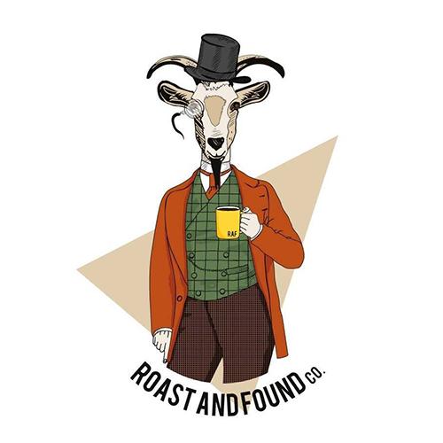 Roast And Found Co. logo