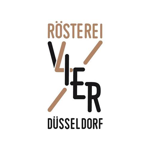 Rosterei VIER logo