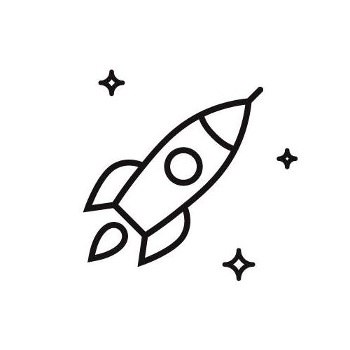 Spaceship Roastery logo